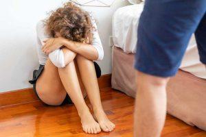 איומים ותקיפת בת זוג